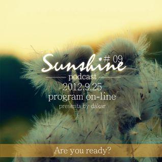 2012.9.25  Sunshine Podcast # 09 presents by Dakar