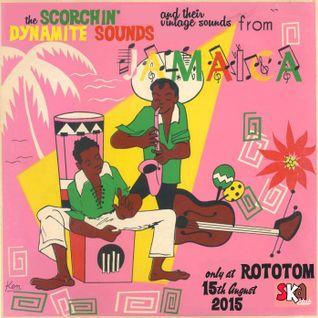 The Scorchin' Dynamite Sounds @ Rototom Ska Club, 2015 (by Saül Ska-bà & Miquel Injection).
