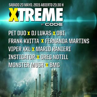 Mario Ranieri @ XTREME by CODE, Fabrik Madrid, Spain 23.5.2015