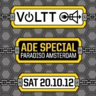 Malbetrieb @ VOLTT ADE Special 2012 Paradiso Amsterdam