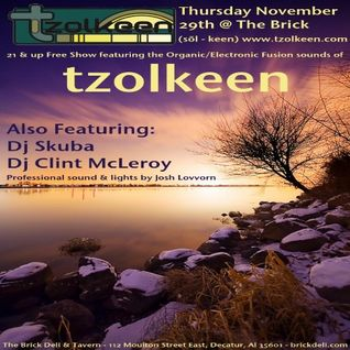 Opening for tzolkeen @ The Brick Deli and Tavern 11-29-2012 Clint McLeroy