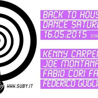 FEDERICO GUGLIELMI GUEST IN BACK TO HOUSE ON RADIO SUBY