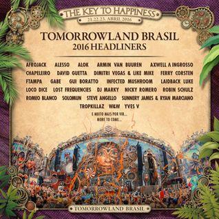 Afrojack - Live @ Tomorrowland Brazil 2016 Day 2 (22.04.16)