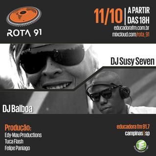 Rota 91 - 11/10/14 - Educadora FM