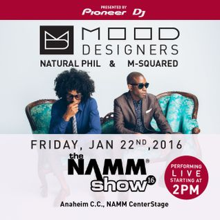 M-Squared & Natural Phil/The Mood Designers Live Performance from NAMM 2016