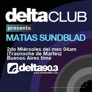 Delta Club presenta Matias Sundblad (14/12/2011)