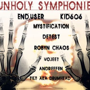 Detest - Mix for Unholy Symphonies@ 130bpm.eu-Onlinestream 08-12-12