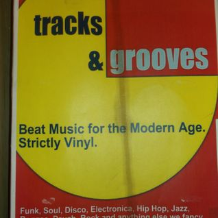 TRACKS AND GROOVES-DEC. 2014- WITH VINTAGE VINYL, AT MILK , READING