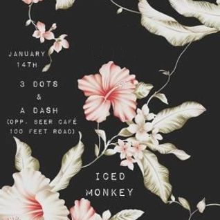 Black Carpet pres Iced Monkey Recorded at 3 Dots & A Dash // Bangalore [16.1.2016]