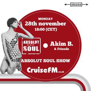 Absolut Soul Show /// 28.11.2016 on cruiseFM