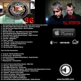 Podcast 86 Top 5 At 5 Guest Mix From FULL INTENTION