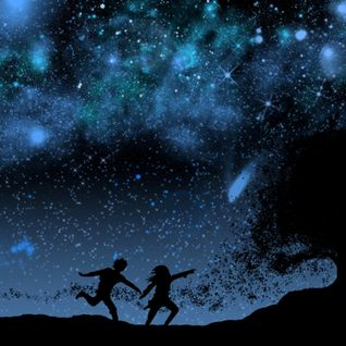 There's a whisper on the night-wind and there's a star agleam to guide us. Let's go....