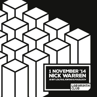 Madloch @ Labyrinth Club (Warm-up for 16 Bit Lolitas / Nick Warren / KIntar) ( 2014 11 01)