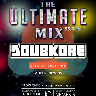 Nemesis - The Ultimate Mix Radio Show (042) 10/11/2015 (Guest DoubKore)