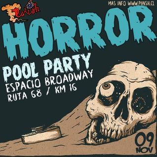 Ariel Beat @ Punsh! Pres. Horror Pool Party, Hard Stage (09-11-2013)
