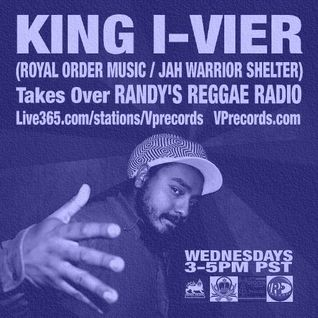 1-29-14 KING I-VIER TAKES OVER RANDY'S REGGAE RADIO!