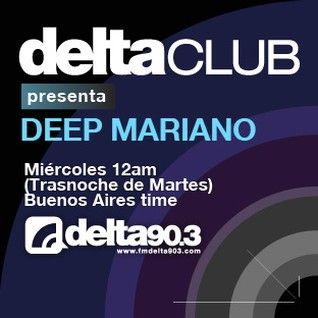 Deep Mariano - Delta Club on Delta 90.3 FM - 24-Nov-2015