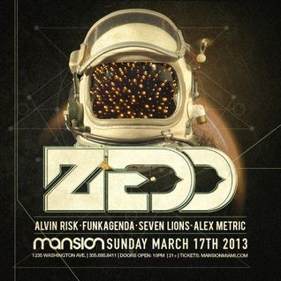 Funkagenda - Live @ Zedd + Friends, Mansion Nightclub (Miami) - 17.03.2013