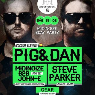 Gear at Ministerium Club - SS Events with Pig & Dan - 15-02-2014