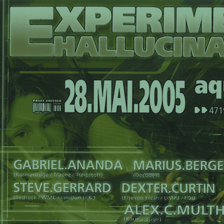 Dexter Curtin - Live at Experimental Hallucinations, Aquatower Duisburg 28-05-2005