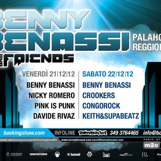 Crookers - Benny Benassi and Friends 2012 (Reggio Emilia) - 22.12.2012