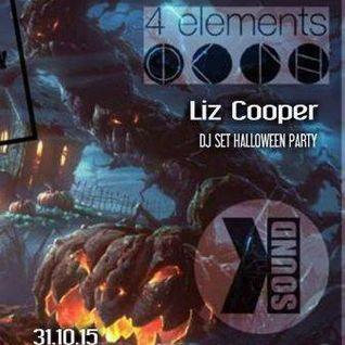 Liz Copper - Dj Set Halloween Party Gravity 7.0 Quatre Elements Paris_Fr 31.10.15