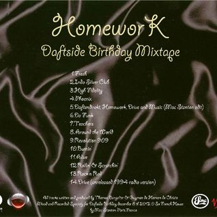 Homework Daftside Birthday Mixtape-Mac Stanton Mix Exclusive!8/12/12!