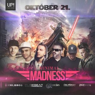 2016.10.21. - Minimal Madness - UP! the Club - Friday