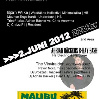 Dj Chrizz Pii live @ Houseaufgaben XXL 2. Juni 2012