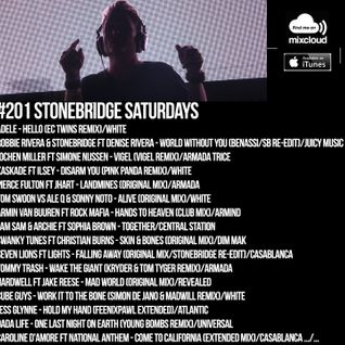 #201 StoneBridge Saturdays