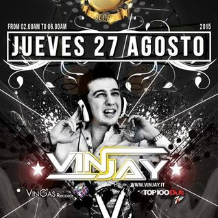 Vinjay @ Veto Social Club (Ibiza-Spain) 27-08-2015 Part 1