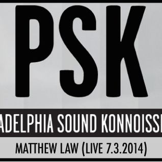 Matthew Law LIVE at PSK 7.3.2014