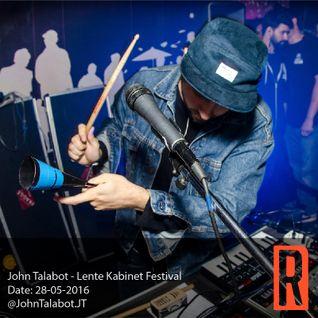 John Talabot - Lente Kabinet Festival 28-05-2016