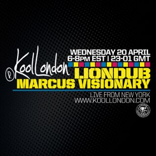 LIONDUB & MARCUS VISIONARY - 04.20.16 - KOOLLONDON [JUNGLE DRUM & BASS]