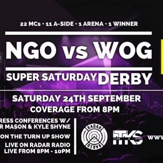 The Turn Up Show w/ Tyler Mason (NGO vs WOG Special) - 24th September 2016