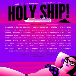 Tommy Trash - Live @ Holy Ship 2016 - Jan 2016