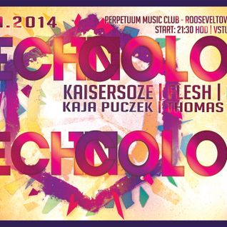 Flesh - live set @ TECHNOCOLOR party w. Kaisersoze, Aghii, Kaja Puczek, Thomas Well /Perpetuum Brno