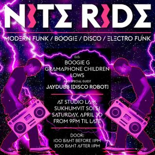 Nite Ride Vol.16 (Vinyl Mix)