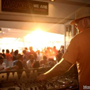 Chris Powell Sunset At Cafe Mambo Ibiza for Clockwork Orange 21st Anniversary