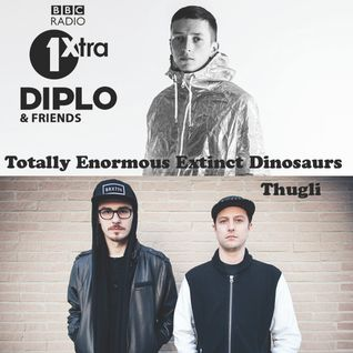 Diplo & Friends on BBC Radio 1 ft T.E.E.D. and Thugli 5/11/14