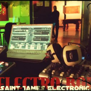 Saint James Electronic - DJ set - Electro Bar - Mjc Rixensart - MAI 2015