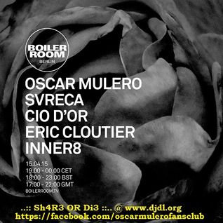 Oscar Mulero - Live At Boiler Room (Berlin) - 15-Apr-2015