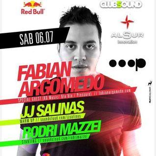 Fabian Argomedo @ CLUBSOUND Mendoza 06-07-2013 PART 1