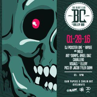 Dj Melo - Blunt Club (Opening Set) 01-28-16