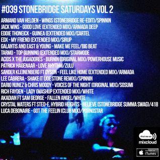 #039 StoneBridge Saturdays Vol 2