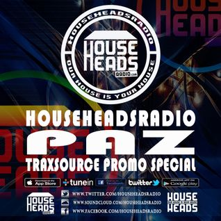 PAZ - THE DEPARTURE LOUNGE - TS PROMO SPECIAL - HHR LIVE 03.04.16
