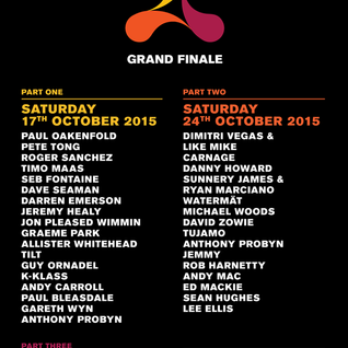Tilt - live at Cream (Finale), Courtyard (Nation, Liverpool) - 17-Oct-2015