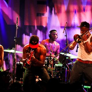 Hypnotic Brass Ensemble warmup set by ATN @ New Morning (16-12-14)