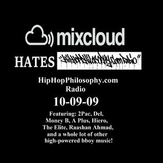 HipHopPhilosophy.com Radio - LIVE - 10-09-09