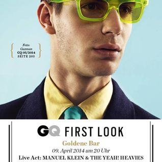 GQ First Looks April 2014 at Goldene Bar, HdK, Munich